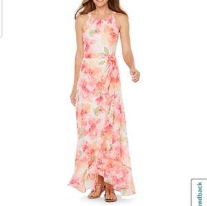 R&K sleeveless maxi dress